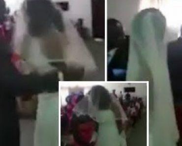 Amante Do Noivo Interrompe Casamento Vestida De Noiva 9