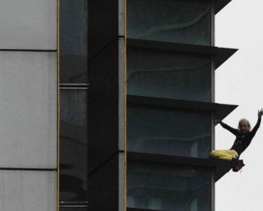 """""""Homem-Aranha"""" Francês Volta a Atacar, Agora Nas Filipinas 8"""