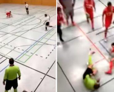 Árbitro Português Agredido Em Jogo De Futsal No Luxemburgo 2