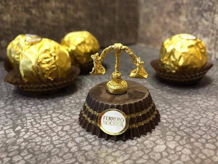 Artista Cria Esculturas Fantásticas Com o Papel Dos Chocolates Ferrero Rocher 15
