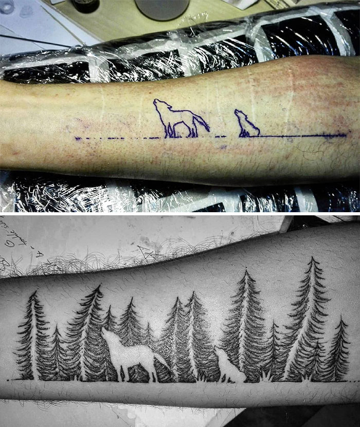 Tatuagens Que Transformaram Manchas e Cicatrizes Em Obras De Arte 17