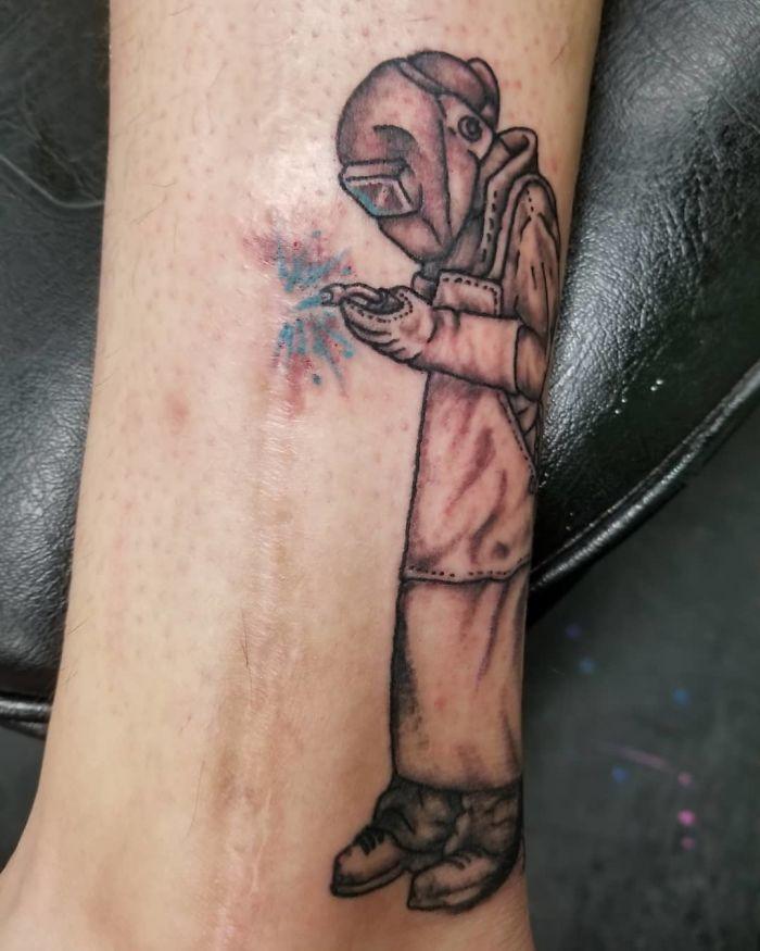 Tatuagens Que Transformaram Manchas e Cicatrizes Em Obras De Arte 5