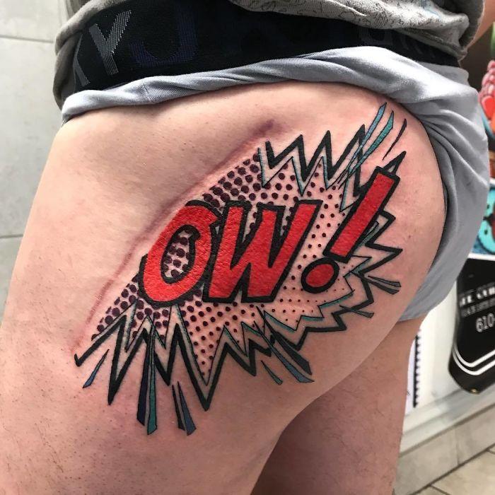 Tatuagens Que Transformaram Manchas e Cicatrizes Em Obras De Arte 6