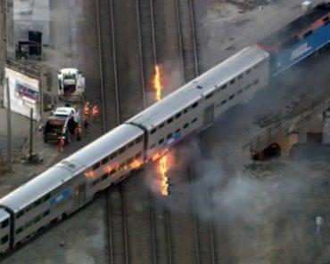 Está Tanto Frio Em Chicago Que é Preciso Pegar Fogo Aos Carris Para Que Os Comboios Continuem a Andar 1