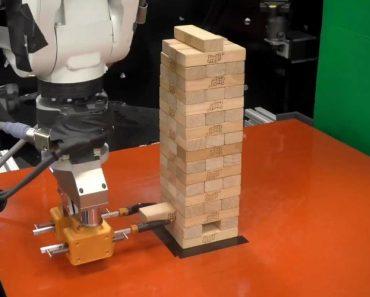 Um Adversário à Altura? MIT Ensinou Robot a Jogar Jenga 7