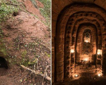 Parece Uma Toca De Coelho Mas Esconde Uma Rede De Caves Secretas Com 700 Anos, Construídas Pelos Templários 8