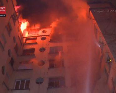 As Impressionantes Imagens Do Incêndio Que Matou Dez Pessoas Em Paris 9