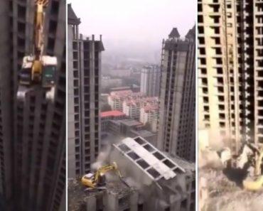 Vídeo Mostra Como é Feita Uma Demolição Num Edifício Chinês Com Mais De 20 Andares 1