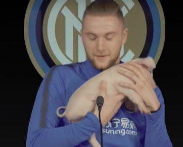 Jogadores Do Inter Festejaram o Ano Do Porco De Uma Forma Bem Divertida 4
