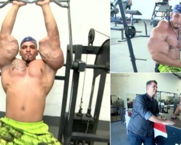 """Hulk Brasileiro Reclama Do Preconceito Que Sofre Por Causa Dos """"Músculos"""" 7"""