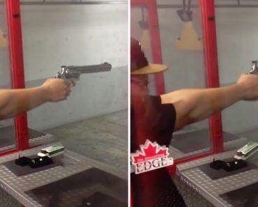 Arma Fica Partida Ao Meio Após Fazer Disparo 1