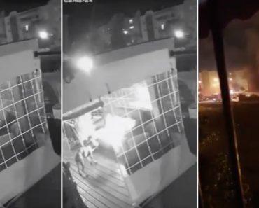 Cão Provoca Incêndio  Ao Brincar Com Um Isqueiro Num Edifício De Apartamentos 1