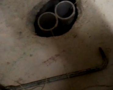 Bombeiros Usam Invulgar Método Para Resgatar Gato Preso Dentro De Canalização 2
