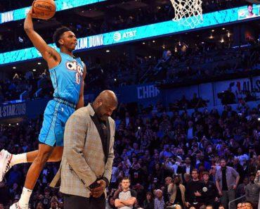 """""""Super-Homem"""" Voa Sobre Shaquille O'Neal e Vence Concurso Da NBA 9"""