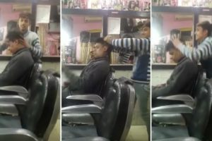 Cliente Vai Ao Barbeiro Para Cortar o Cabelo Mas Provavelmente Ficou Com Algum Dano Cerebral 10
