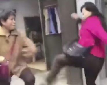 """O Que Acontece Quando Duas Mulheres """"Kung Fu"""" Se Desentendem 3"""