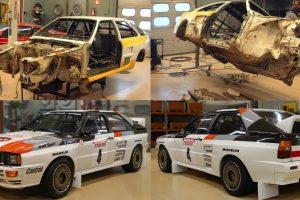 O Impressionante Processo De Restauro De Um Audi Quattro A2 De 1983 9