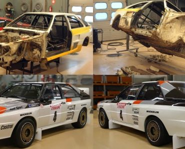 O Impressionante Processo De Restauro De Um Audi Quattro A2 De 1983 8
