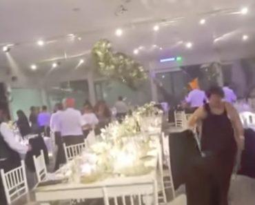 Temporal Faz-se De Convidado e Arruína Festa De Casamento 1