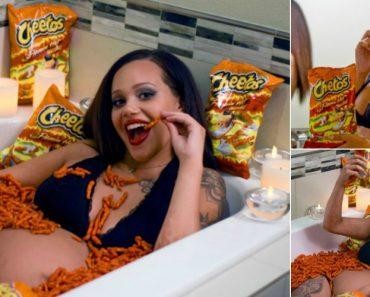 Mulher Diz Que o Filho Nasceu Ruivo Por Causa Dos Cheetos 3
