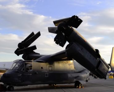 Chama-Se Boeing-Bell MV-22 Osprey e é Uma Aeronave Militar Que Parece Ter Sido Inspirada Nos Transformers 5