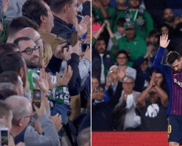 Imperdível: Messi Assina Hat-Trick e Adeptos Do Betis Aplaudem-no De Pé 4