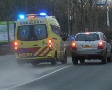 Condutor Imbecil Tenta Bloquear Ambulância Em Emergência 2