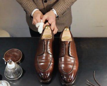 O Campeão Japonês a Limpar Sapatos… é Hipnotizante! 5