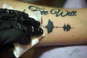 Tatuagens Com Som, Que Pode Ouvir a Qualquer Hora, e Em Qualquer Lugar 10