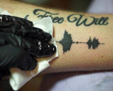 Tatuagens Com Som, Que Pode Ouvir a Qualquer Hora, e Em Qualquer Lugar 4