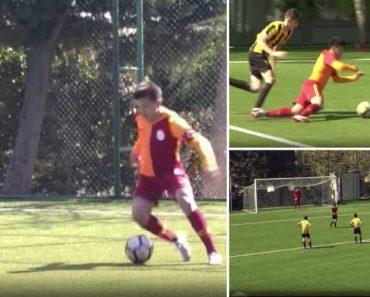 Fair-Play Ao Mais Alto Nível Em Jogo De Sub-14 Entre Galatasaray e İstanbulspor 9