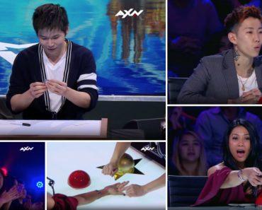Mágico Faz Moedas Desaparecerem Fisicamente No Asia's Got Talent De Forma Surpreendente 7