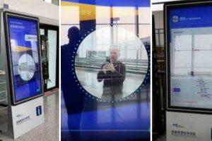 Aeroporto Disponibiliza Todas As Informações Sobre O Voo Dos Passageiros Através De Detetor Facial 10