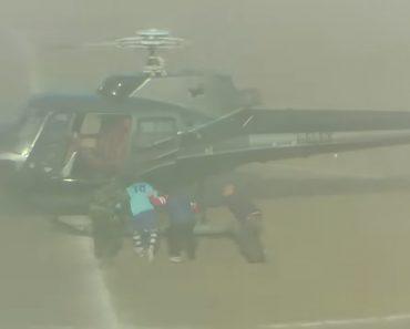 Insólito Em Itália: Jogador Finge o Próprio Rapto Com Um Helicóptero Em Campo 5