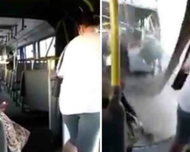 Autocarro Fica Partido Ao Meio Durante o Transporte De Passageiros 4