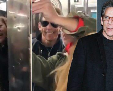 A Reação De Uma Mulher Ao Encontrar o Ator Ben Stiller No Metro 6