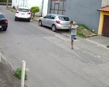 O Que Ainda Faltava Ver Num Roubo De Um Carro No Brasil… Um Assaltante Sem Uma Das Pernas 1