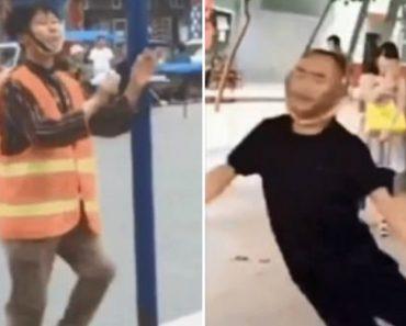 Chineses Inventam Novo Exercício Físico Que Consiste Em Ficar Pendurado Pelo Pescoço 3