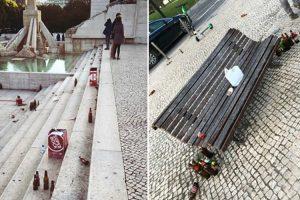 Adeptos Alemães Deixam Parque Eduardo VII Em Lisboa Num Estado Lastimável 10