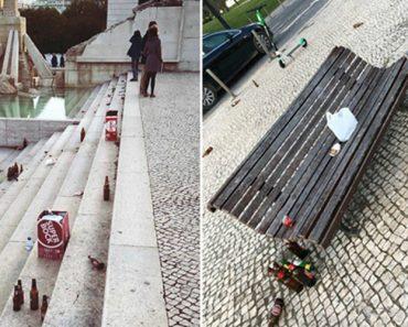 Adeptos Alemães Deixam Parque Eduardo VII Em Lisboa Num Estado Lastimável 2