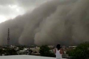 População Filma Impressionante Tempestade De Areia Que Transformou Dia Em Noite 10