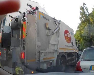 Ver Trabalhadores Da Recolha Do Lixo Atirar Lixo Para o Chão é No Mínimo Irónico 7