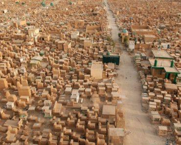 Imagens Aéreas Mostram Como é o Maior Cemitério Do Mundo Com Mais De 5 Milhões De Pessoas Enterradas 1