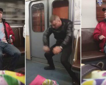 Mulher Pensa Que Está a Filmar o Sujeito Mais Lunático Do Metro… Mas Eis Que Surge Um Muito Pior! 3