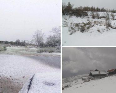 Neve Está a Pintar De Branco o Interior De Portugal 5