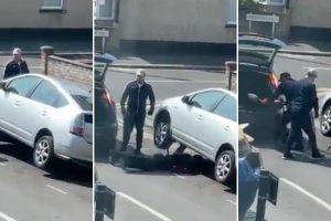 Ladrões Roubam Catalisador De Um Carro No Meio Da Estrada Em Plena Luz Do Dia 10