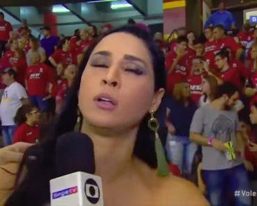 Ex-Jogadora Brasileira De Voleibol Desmaiou Em Plena Entrevista 3
