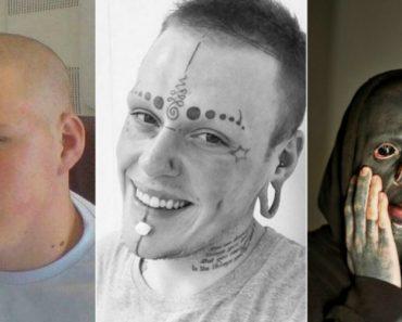 A Incrível Transformação De Um Jovem Obcecado Por Tatuagens 8