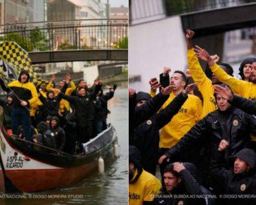 Beira-Mar Chegou De Moliceiro Para Os Festejos Da Subida Aos Campeonatos Nacionais 6