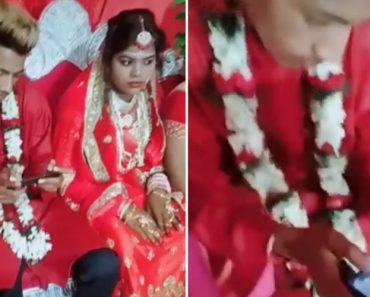 Noivo Apanhado a Jogar Videojogo Durante Casamento 2
